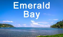 emerald bay, panama